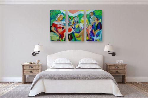 תמונה לחדר שינה - אסתר חן-ברזילי - בית קפה בפריז - מק''ט: 248152