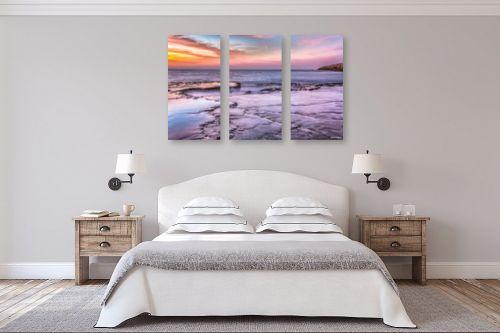 תמונה לחדר שינה - מיכאל שמידט - קשת צבעי הים - מק''ט: 248411