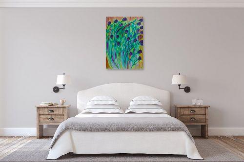 תמונה לחדר שינה - אסתר חן-ברזילי - פעמוניות - מק''ט: 252373