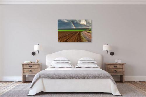 תמונה לחדר שינה - מיכאל שמידט - קשת ברמה - מק''ט: 252515