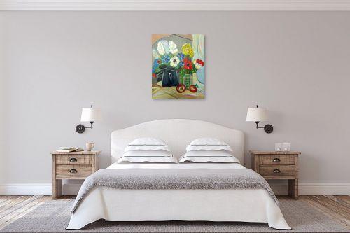 תמונה לחדר שינה - רינה יניב - השתקפות במראה - מק''ט: 255501