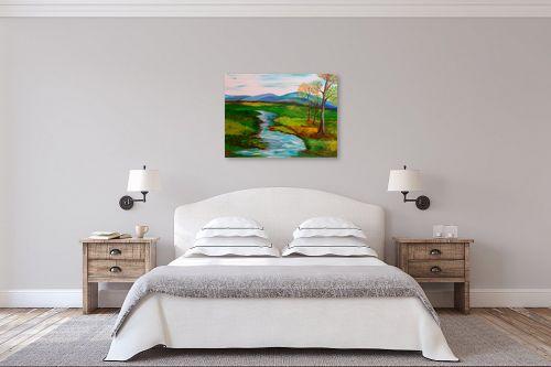 תמונה לחדר שינה - אסתר חן-ברזילי - נוף פסטורלי - מק''ט: 258755