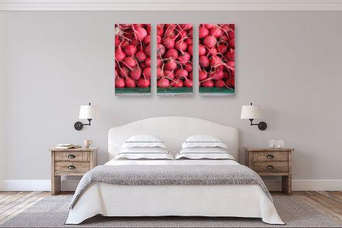 תמונה לחדר שינה - דן ששתיאל - צנוניות - מק''ט: 258841