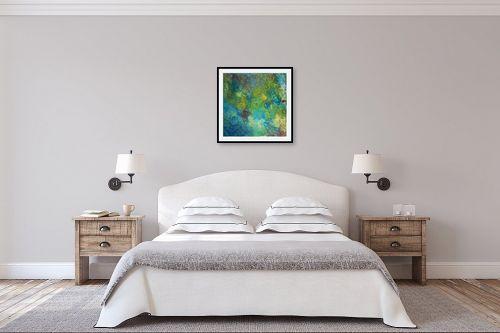 תמונה לחדר שינה - אירית שרמן-קיש - בועות של צבע - מק''ט: 259663