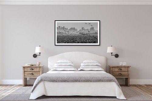 תמונה לחדר שינה - דורית ברקוביץ - בוקר באגמון - מק''ט: 260731