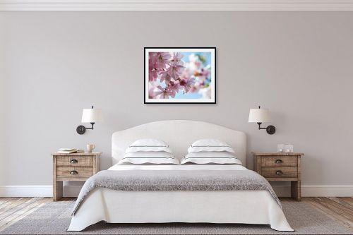 תמונה לחדר שינה - דורית ברקוביץ - פריחת הדובדבן - מק''ט: 261305