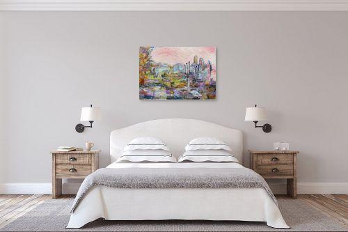תמונה לחדר שינה - חוה מזרחי - העיר התחתית - מק''ט: 262818