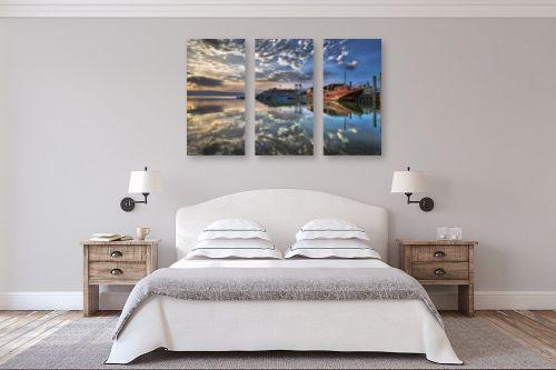 תמונה לחדר שינה - מיכאל שמידט - גלויה בעין גב - מק''ט: 263093