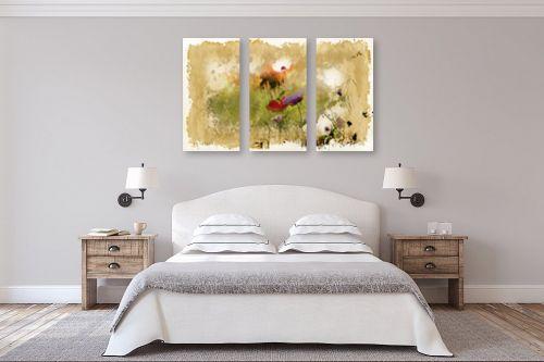 תמונה לחדר שינה - גורדון - פרחי אביב - מק''ט: 263213