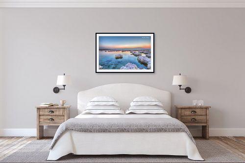 תמונה לחדר שינה - איזבלה אלקבץ - זריחה בים המלח - מק''ט: 266732