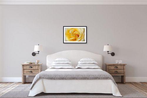 תמונה לחדר שינה - איזבלה אלקבץ - סיחרור צהוב - מק''ט: 267022