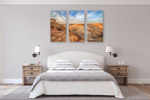 תמונה לחדר שינה - איזבלה אלקבץ - הנוף ממצדה - מק''ט: 267371