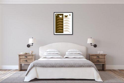 תמונה לחדר שינה - ויקטוריה רייגירה - שפת אם - מק''ט: 267810