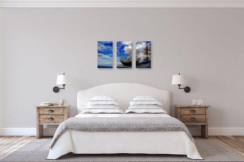 תמונה לחדר שינה - אורית גפני - שמיים בארץ - מק''ט: 270774