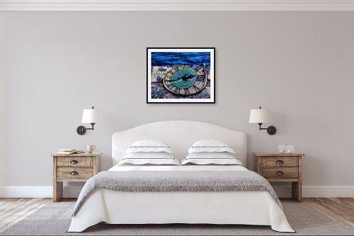 תמונה לחדר שינה - אורית גפני - מעגלי הזמן - מק''ט: 270781