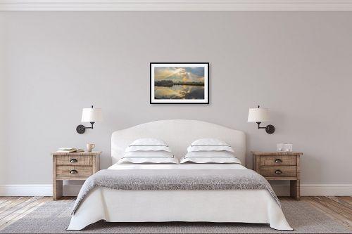 תמונה לחדר שינה - איזבלה אלקבץ - השתקפות - מק''ט: 274565
