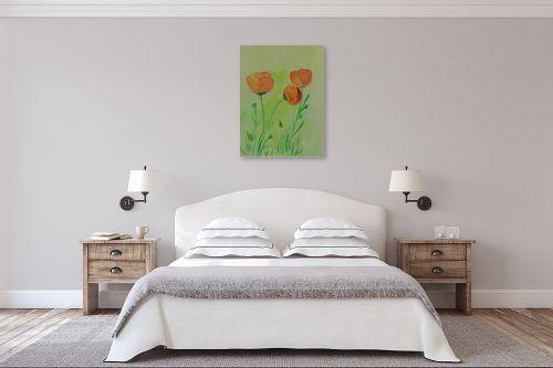 תמונה לחדר שינה - רינה יניב - פרחי שדה 2 - מק''ט: 277521
