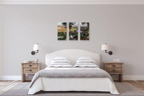 תמונה לחדר שינה - מיכאל שמידט - רקפת עם הנוף המושלם - מק''ט: 277585