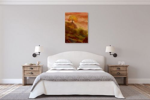 תמונה לחדר שינה - אורי רדלר - מחשבות סתיו - מק''ט: 279335