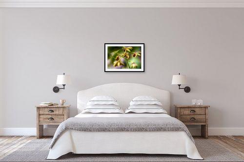 תמונה לחדר שינה - אורלי גור - סחלבים 6 - מק''ט: 279336