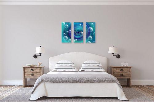 תמונה לחדר שינה - ויקטוריה רייגירה - משחק הבועות - מק''ט: 281292