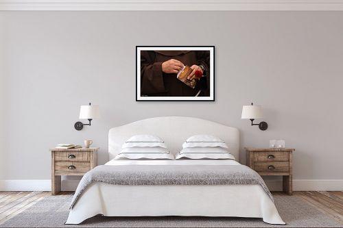 תמונה לחדר שינה - כרמל תדמור - ידי הורד - מק''ט: 281722
