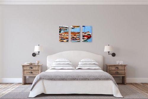 תמונה לחדר שינה - אורית גפני - נמל נאפולי - מק''ט: 281857