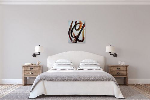 תמונה לחדר שינה - אסתר חן-ברזילי - מופשט 1 - מק''ט: 282324