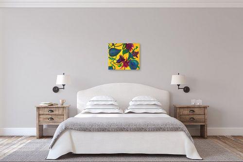 תמונה לחדר שינה - אסתר חן-ברזילי - פריחה 3 - מק''ט: 282930