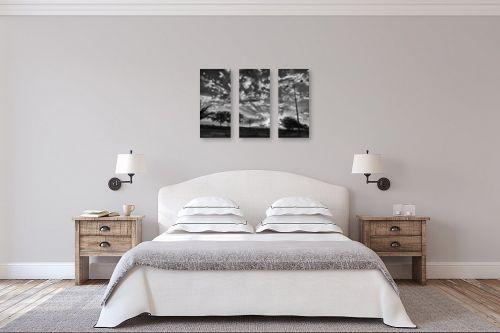 תמונה לחדר שינה - ארי בלטינשטר - שקיעה חורפית בירוחם - מק''ט: 284060