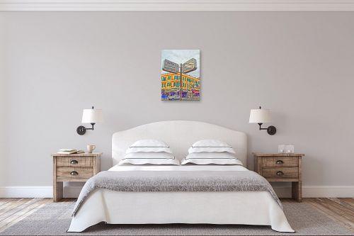 תמונה לחדר שינה - מתן הירש - שנקין-אלנבי - מק''ט: 285253
