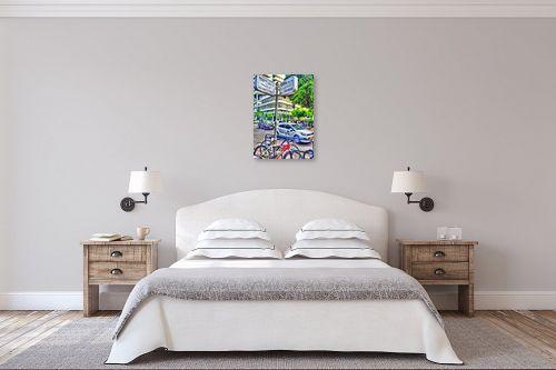 תמונה לחדר שינה - מתן הירש - דיזינגוף-פרישמן - מק''ט: 285254