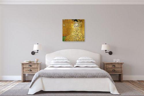 תמונה לחדר שינה - גוסטב קלימט - Adele Bloch האשה בזהב - מק''ט: 285345