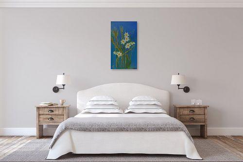 תמונה לחדר שינה - רינה יניב - פריחת הנרקיסים - מק''ט: 285641