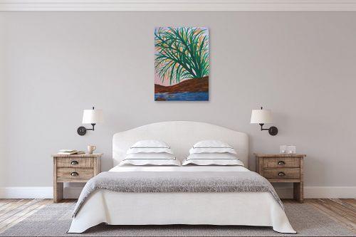 תמונה לחדר שינה - אסתר חן-ברזילי - שיח אקזוטי - מק''ט: 286507