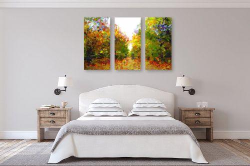 תמונה לחדר שינה - ויקטוריה רייגירה - שמורת  טבע - מק''ט: 286555