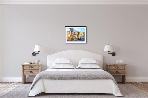 תמונה לחדר שינה - ציפי נוימן - יפו - מק''ט: 288375