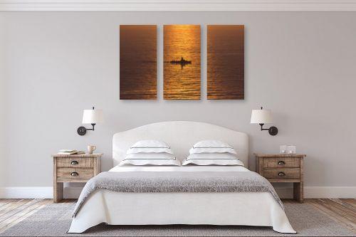 תמונה לחדר שינה - DnD Production - בים הכתום - מק''ט: 290855