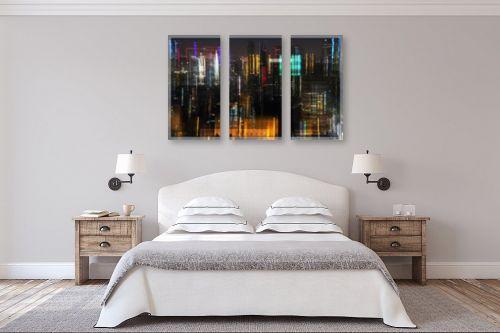 תמונה לחדר שינה - אורלי גור - לילה בתל אביב 3 - מק''ט: 293028