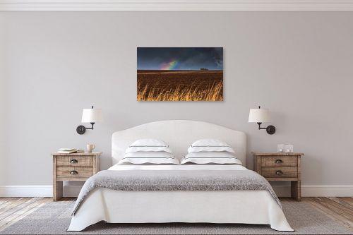 תמונה לחדר שינה - מיכאל שמידט - שדות ביקשו אל הגשם.. - מק''ט: 294932