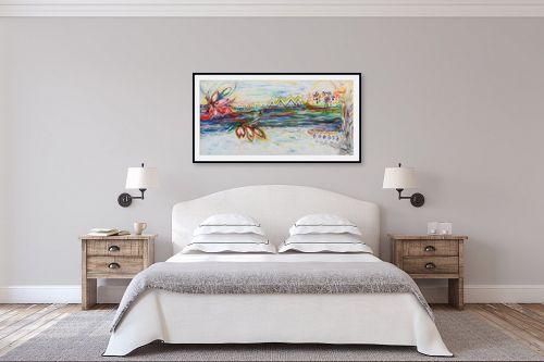 תמונה לחדר שינה - חוה מזרחי - כישוף על המים - מק''ט: 295420