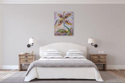 תמונה לחדר שינה - חוה מזרחי - נשימה - מק''ט: 295424