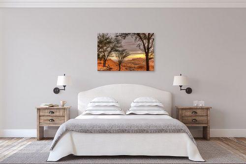 תמונה לחדר שינה - איזבלה אלקבץ - זריחה בשדה בוקר - מק''ט: 295453
