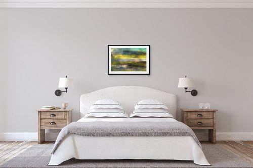 תמונה לחדר שינה - ורד אופיר - יום מעונן - מק''ט: 295481