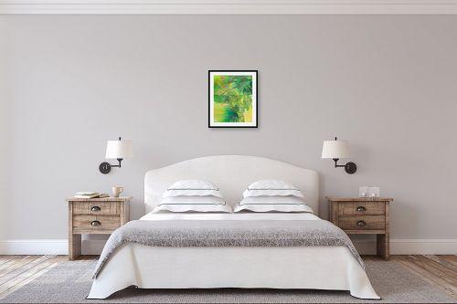 תמונה לחדר שינה - רינה יניב - צמחים בגינה - מק''ט: 296489