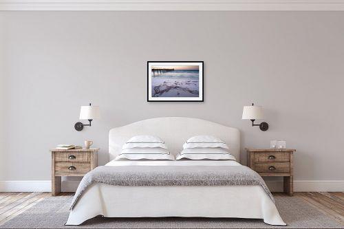 תמונה לחדר שינה - אורי לינסקיל - בלי להשאיר עקבות - מק''ט: 299326