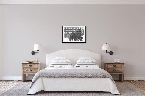 תמונה לחדר שינה - יונה ראובני - טוליפ - מק''ט: 300110