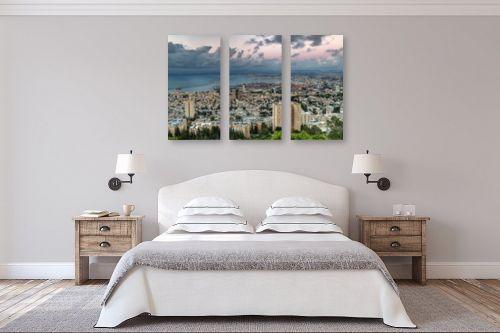 תמונה לחדר שינה - מיכאל שמידט - דימדומים במפרץ.. - מק''ט: 300364
