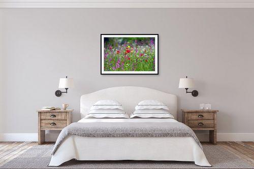 תמונה לחדר שינה - אורית גפני - צבעי אביב - מק''ט: 300522