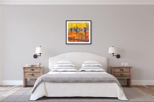 תמונה לחדר שינה - בן רוטמן - כמו צמח בר,,, - מק''ט: 302297